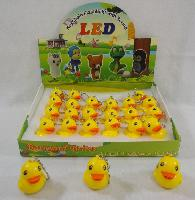 "2"" Light Up Key Chain with Sound Effects [DUCK]"